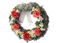 Eternal Wreath(Coated Flower)