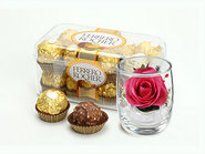 The Rose (Pure Flower) And Rocher Chocolate
