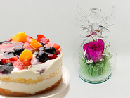 4 Berries torte & Angle(Pure Flower)